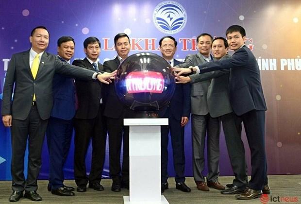 Inauguran centro de ventanilla unica para promover el gobierno electronico en Vietnam hinh anh 1