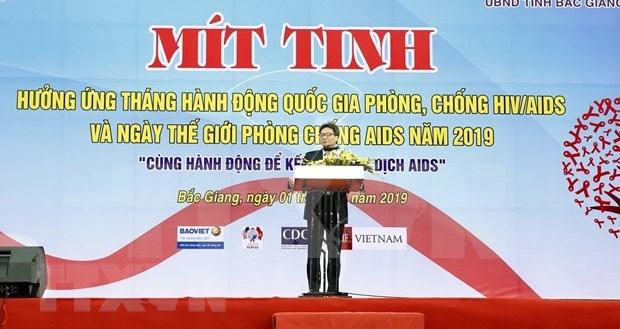 Responde Vietnam al Dia Mundial de la Lucha contra el SIDA hinh anh 1