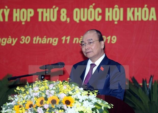 Premier vietnamita Nguyen Xuan Phuc se reune con votantes en Hai Phong hinh anh 1