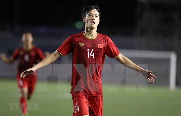 Vietnam remonta y vence 2-1 a Indonesia en juegos deportivos sudesteasiaticos hinh anh 1