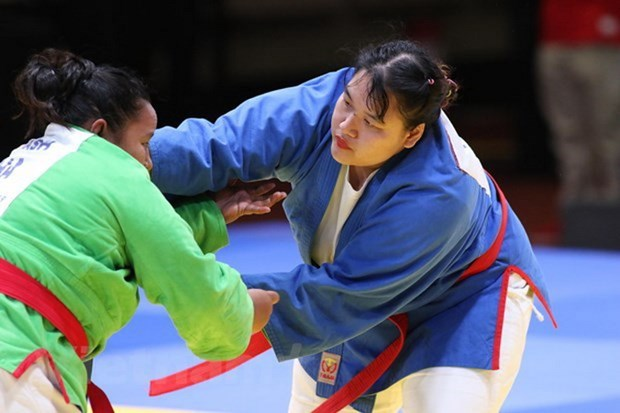 Vietnam se mantiene en segunda posicion en juegos deportivos sudesteasiaticos hinh anh 1