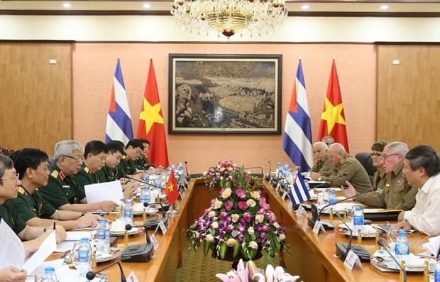 Envian dirigentes de Vietnam felicitaciones por LIX aniversario del establecimiento de relaciones con Cuba hinh anh 1