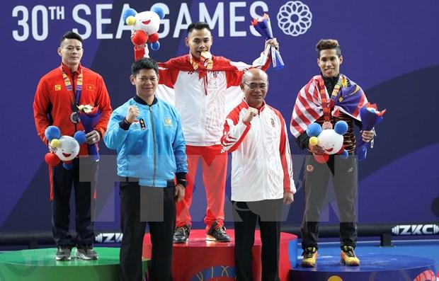Cosecha Vietnam medallas de plata en segunda jornada de los Juegos Deportivos del Sudeste Asiatico hinh anh 1