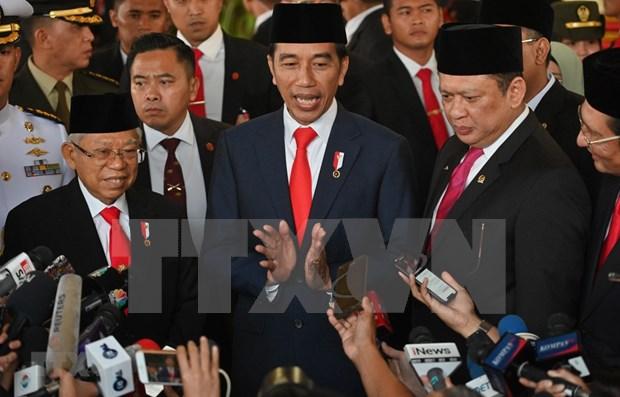 Fortalece Indonesia su mando militar hinh anh 1