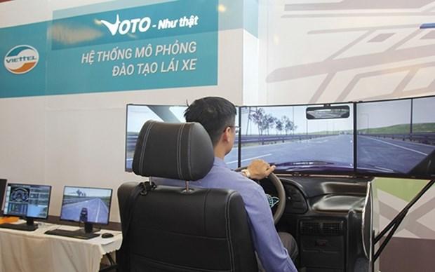 Lanzan en Vietnam sistema de simulador de conduccion hinh anh 1
