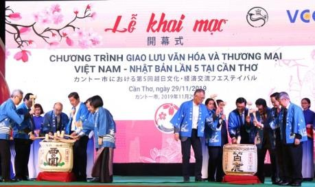 Culmina V Festival de Intercambio Cultural Vietnam-Japon hinh anh 1