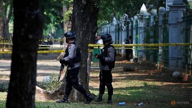 Reportan dos heridos tras explosion en capital de Indonesia hinh anh 1