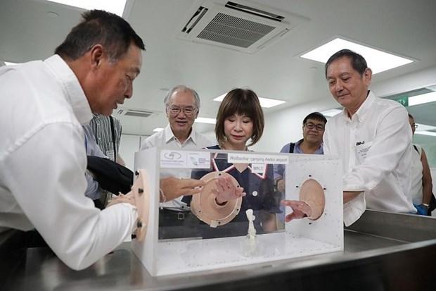 Aplica Singapur solucion biologica en la lucha contra el dengue hinh anh 1
