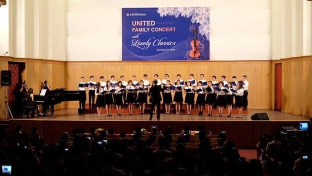 Ofreceran artistas vietnamitas y sudcoreanos concierto en Ciudad Ho Chi Minh hinh anh 1