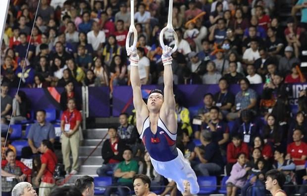 SEA Games 30: Vietnam mantiene segundo lugar en el medallero hinh anh 1