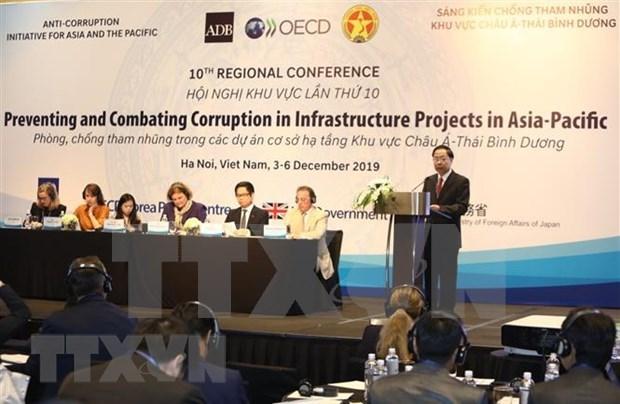 Sesiona en Vietnam conferencia de Asia- Pacifico sobre iniciativas contra la corrupcion hinh anh 1