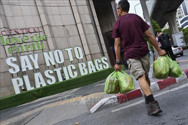 Eliminaran en Tailandia el empleo de bolsas plasticas en comercios hinh anh 1