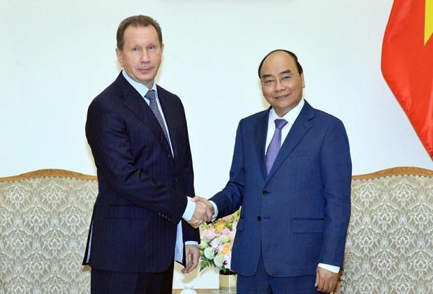 Primer ministro de Vietnam recibe a jefe de la Guardia Nacional de Rusia hinh anh 1
