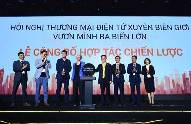Celebran en Vietnam Conferencia sobre Comercio Electronico Transfronterizo hinh anh 1