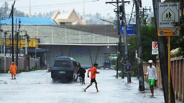 Reportan en Filipinas al menos una decena de muertos como consecuencia del tifon Kammuri hinh anh 1