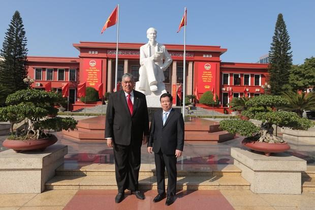 Miguel Mejia agota exitosa agenda en Vietnam que consolida las relaciones diplomaticas con Republica Dominicana hinh anh 5