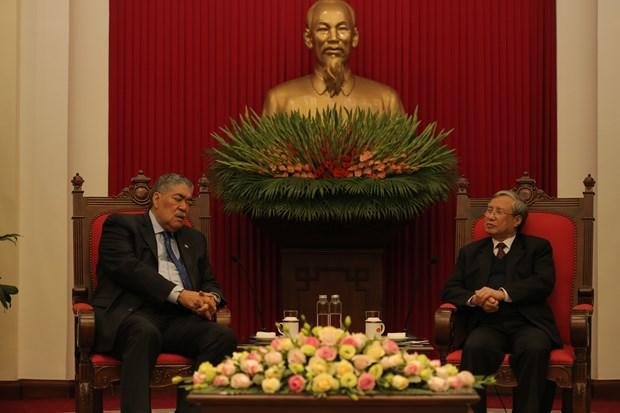 Miguel Mejia agota exitosa agenda en Vietnam que consolida las relaciones diplomaticas con Republica Dominicana hinh anh 4