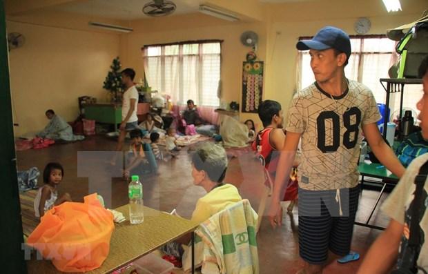 Tifon Kammuri deja dos muertos en Filipinas hinh anh 1
