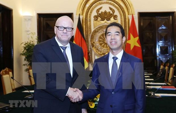Vietnam y Alemania buscan agilizar asociacion estrategica hinh anh 1