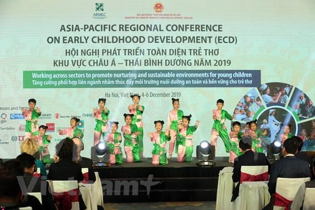 Acoge Vietnam por primera vez Conferencia de Asia-Pacifico sobre Desarrollo Infantil hinh anh 1