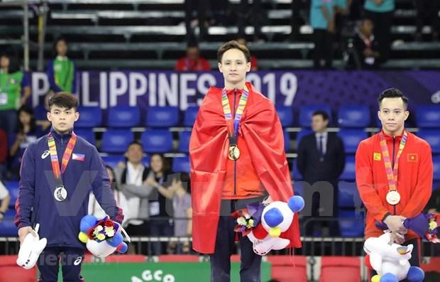Vietnam consolida segundo lugar en medallero de SEA Games 30 hinh anh 1