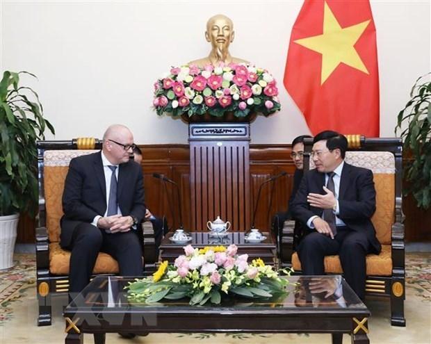 Valora Vietnam las relaciones con Alemania hinh anh 1