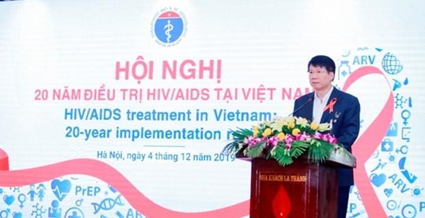 Vietnam en camino para poner fin a la pandemia de SIDA hinh anh 1
