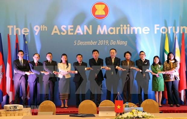 Inauguran IX Foro del Mar de la ASEAN hinh anh 1