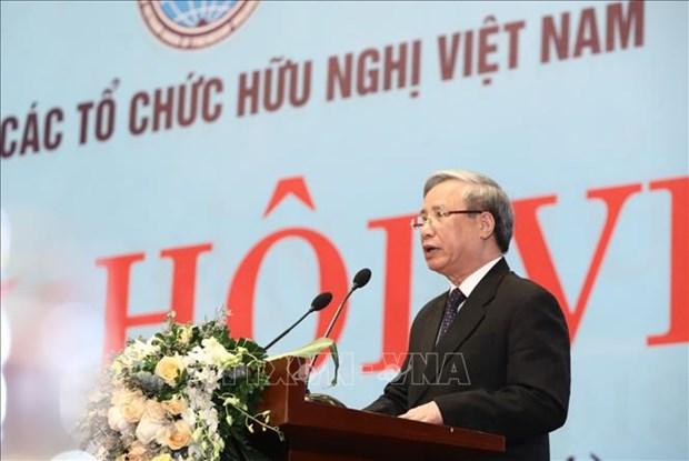 Destacan papel de Union de Organizaciones de Amistad en ampliacion de lazos entre Vietnam y otros paises hinh anh 1