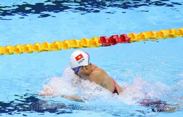 Obtiene nadadora vietnamita Nguyen Thi Anh Vien su primer oro en los SEA Games 30 hinh anh 1