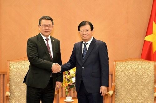 Amplian Vietnam y Mongolia los lazos comerciales hinh anh 1