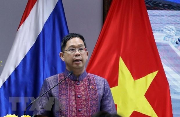 Conmemoran en Ciudad Ho Chi Minh Dia Nacional de Tailandia hinh anh 1