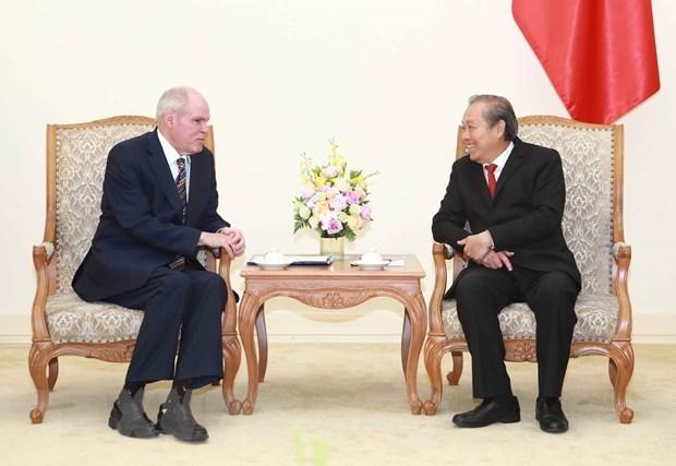 Aboga Vietnam por incremento de cooperacion con la OCDE en lucha anticorrupcion hinh anh 1