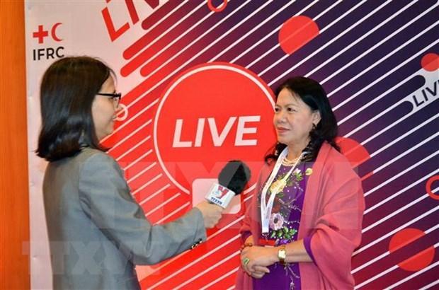 Destacan importante papel de la Cruz Roja de Vietnam en actividades humanitarias hinh anh 1