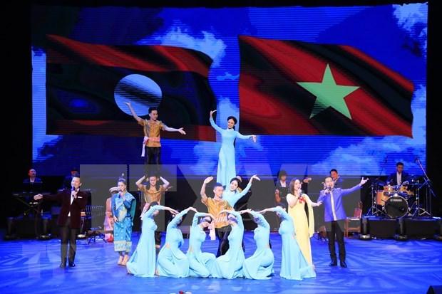 Inauguran Semana Cultural de Vietnam en Laos hinh anh 1