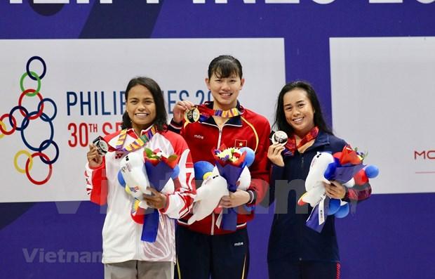 Retrocede Vietnam en clasificacion de juegos deportivos sudesteasiaticos hinh anh 1