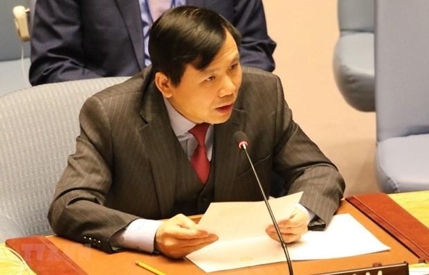 Vietnam comparte experiencia en las operaciones de mantenimiento de paz de ONU hinh anh 1