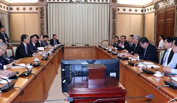 Ciudad Ho Chi Minh aspira a intensificar cooperacion con empresas japonesas hinh anh 1