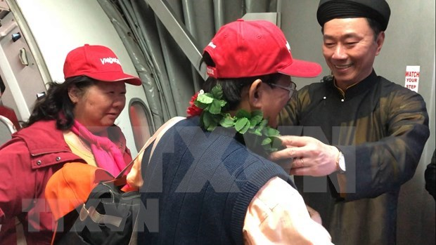 Realiza Vietjet Air con exito primer vuelo directo Hanoi- Nueva Delhi hinh anh 1
