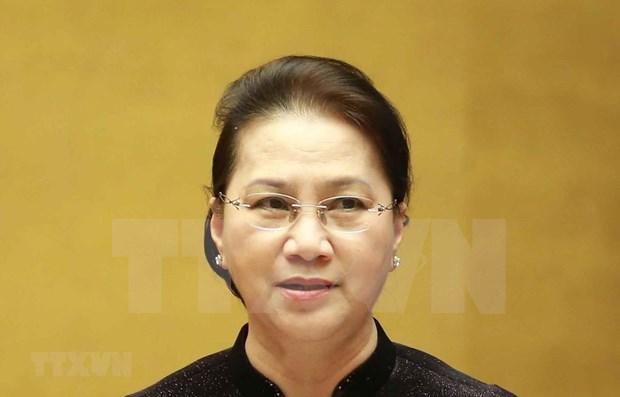 Vietnam busca intensificar lazos parlamentarios con Rusia hinh anh 1