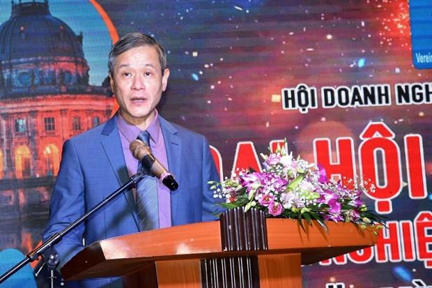 Empresas vietnamitas en Alemania fomentan relaciones bilaterales hinh anh 1