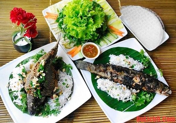 Inauguran en provincia vietnamita de Dong Thap nueva calle gastronomica hinh anh 1