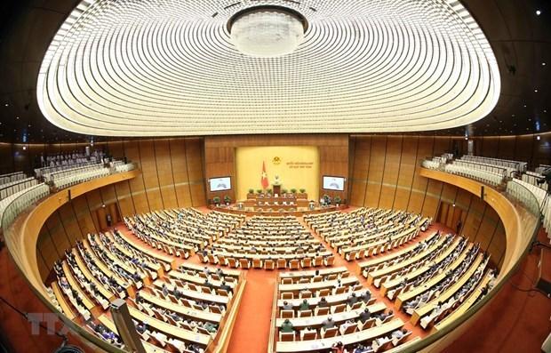 Ratifica el Parlamento de Vietnam acuerdos sobre demarcacion fronteriza con Camboya hinh anh 1