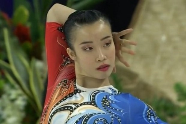 SEA Games 30: Gana Vietnam medalla de oro en gimnasia aerobica hinh anh 1