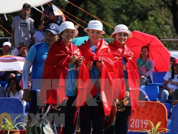 SEA Games 30: Vietnam con cosecha de oros en octavo dia de competencia hinh anh 1
