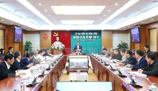 Celebra Comision de Control Disciplinario del PCV su 41 reunion hinh anh 1