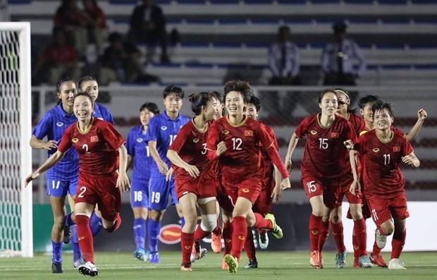 Destacan a la seleccion femenina de futbol como orgullo de mujeres vietnamitas hinh anh 1