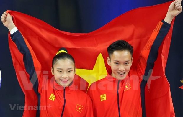 Sobrecumple Vietnam meta de oros en juegos deportivos sudesteasiaticos hinh anh 1