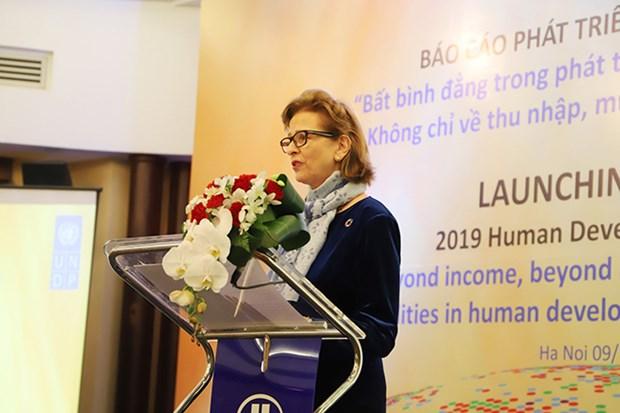 Reconoce el PNUD gran salto de Vietnam en desarrollo humano hinh anh 1