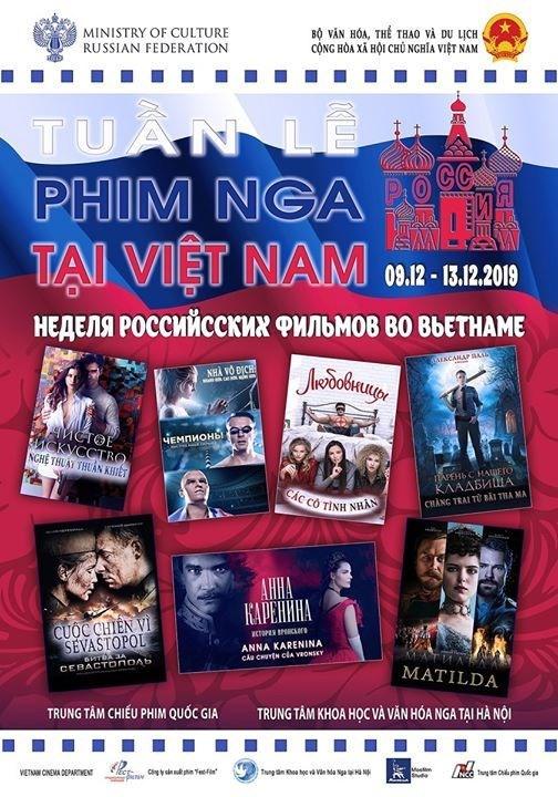 Celebran en Hanoi Ciclo del Cine ruso hinh anh 1